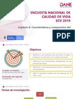 Capítulo D Características y Composición Del Hogar