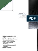 Asic Design I