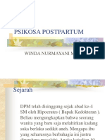 PSIKOSA POST PARTUM