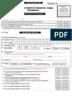 CTSP Form