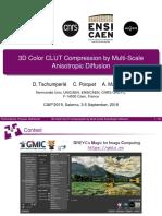 CLUT compression (slides for CAIP'2019)