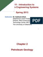 Ch 2 - Petroleum Geology