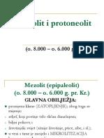 Mezolit i Protoneolit