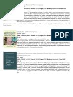 Pharmaceutical Sciences CatalogueListUSD