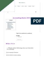 Accounting Basics MCQs _ Accountancy Knowledge