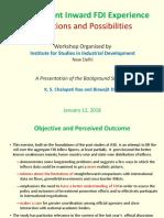 India's FDI Perceptions and Possibilities