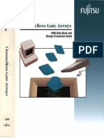 1990 Fujitsu Channelless Gate Arrays