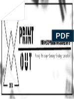 Print Out Banner Logo