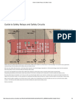 Guide to Safety Relays and Safety Circuits