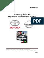 Industry Report Auto November 2013