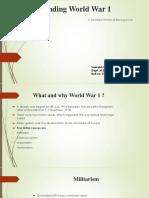 Understanding World War 1