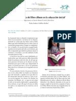 LIBRO ALBUM EN LA EDUCACIÓN INICIAL