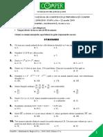 Subiect Comper Matematica EtapaII 2018 2019 ClasaV
