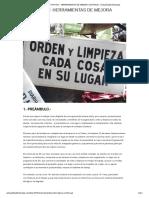 """LAS """"4+5=9S""""_ HERRAMIENTAS DE MEJORA CONTINUA - Actualidad Empresa"""