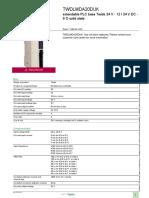 Twido - Programmable Controller_TWDLMDA20DUK