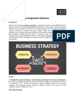 Business Strategy Assignment Solutions
