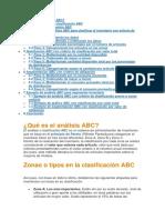 Analisis Sistema ABC