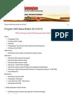 Contoh Program Kerja DKR