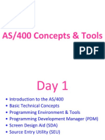 Extracts From AS400 Concepts and Tools