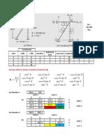Matrix Analysis of Structures - Truss