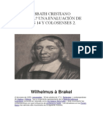 Wilhelmus á Brakel