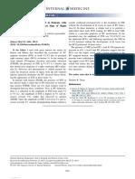 ST-segment Elevation in V1-V3 in Patient