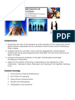 Social Dimensions of Education Review Notes 1