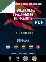 Programa Final 31.07.2019