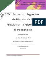 1º Circular Encuentro de Historia Psi 2019 San Luis (1)
