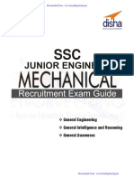 Mechanical Ssc Je Disha Publication
