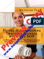 Hotel Housekeeping Training Preview Copy