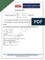 Análise Matemática - Uneb - Soluções Em 18 Ago 2019 - Questões 04, 05 e 06