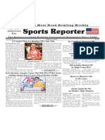 August 21 - 27, 2019  Sports Reporter