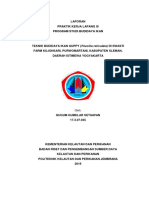 Lapoan PKL Teknik Budidaya Ikan Hias Guppy