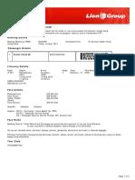 Lion Air ETicket (WOUCPP) - Panidi