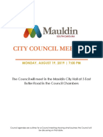 Council Meeting Agenda Rev August 19 2019