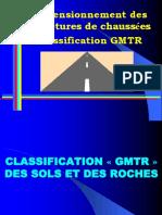 dimensionnement des structures de chaussées - Sol (ISTP°