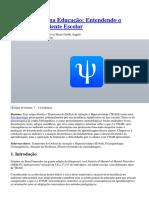 Psicopatologia na Educação - Entendendo o TDAH no Ambiente Escolar.docx