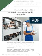 pcm manutenção