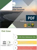 Profile Ciletuh-pelabuhanratu Geopark 2019