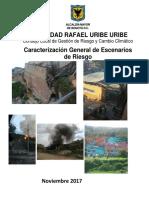 CARACTERIZACIÓN ESCENARIO DE RIESGOS