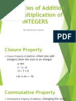 10 Properties of Integers (1)