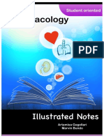 Pharmacology Illustrated Notes