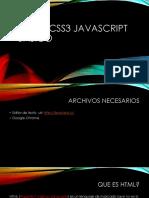 Html5,Css3 Javascript