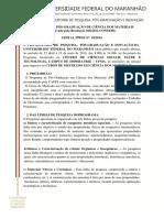 Edital 2019 - Imperatriz