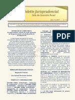 Boletin Jurisprudencial 2019-07-31