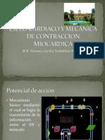 Ciclo Cardiaco y Mecanica de Contraccion Miocardica (1)