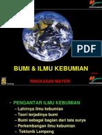 Bumi&Ilmu Kebumian-1