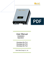 UserManual Omniksol-3k&4k&5k-TL2 en Built-In Card V1.2 20190109