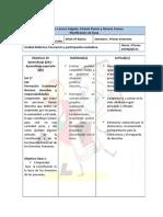 Planificación de Unidad de Ciencias Sociales (Nivel basico)